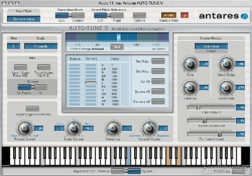 Antares Auto-Tune 5 RTAS TDM VST AU OSX iNTEL-XVX | VST